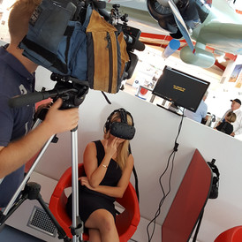 Press launch VR