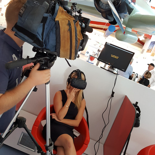 Press launch VR