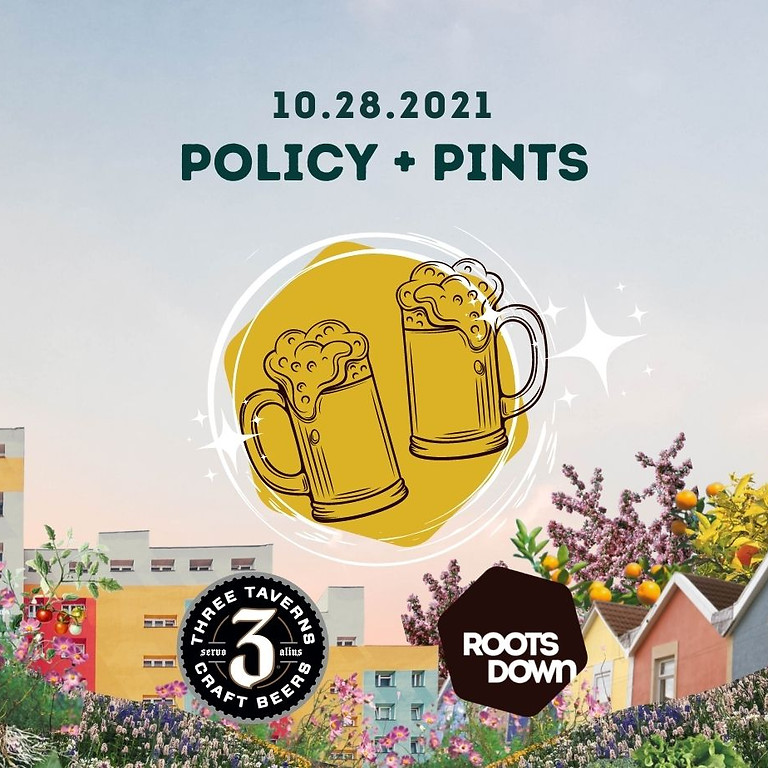 Policy + Pints