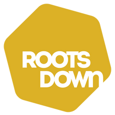 Roots Down Logo Yellow