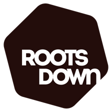 Roots Down Logo Maroon
