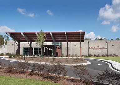 Productive Urban Landscape: Salem Panola Library