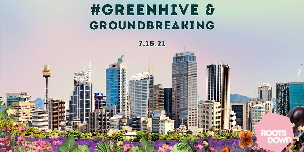 #GreenHive Garden Party and Groundbreaking