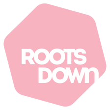 Roots Down Logo Pink