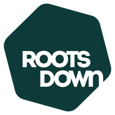 Roots Down Logo Green