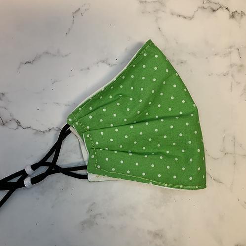 Green Polkadot