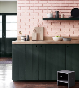 Confetti  by Little Greene combined with Lamp Black
