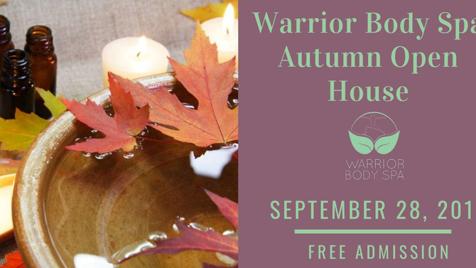 Sound & Readings at Warrior Body Spa in Tucker, Ga 9/28 3-7 PM