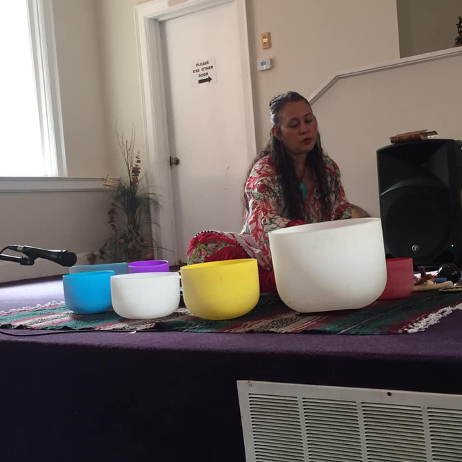 Sound Healing with Blue Thunder