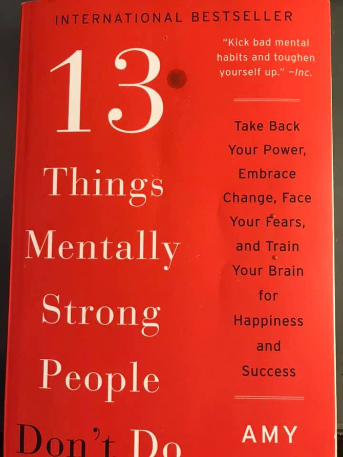 13 Things Mentally Strong People Don't Do book by Amy Morin