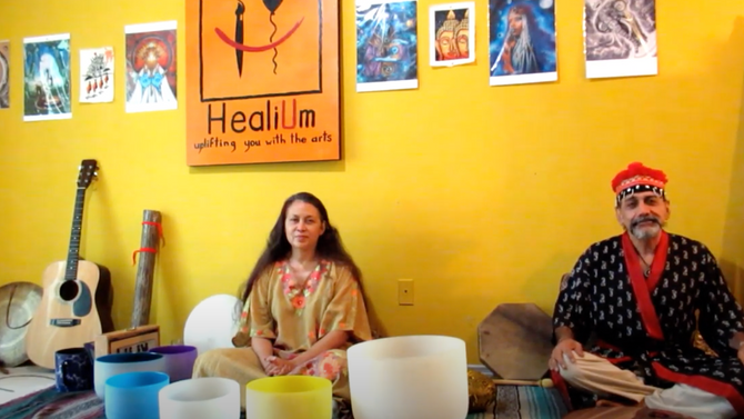 A Healium collaboration April 2020 Special Messages & Spontaneous Jam for You!