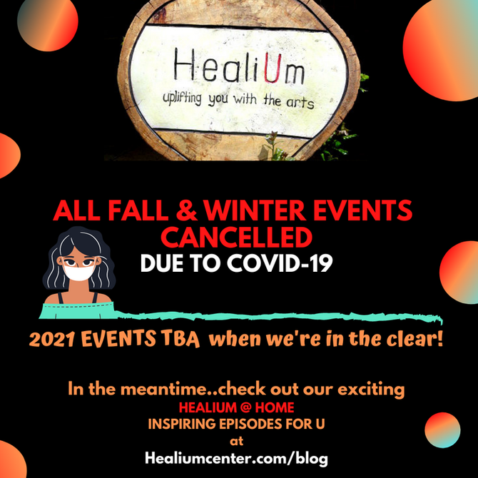 Fall and Winter 2020 closed  TBD 2021