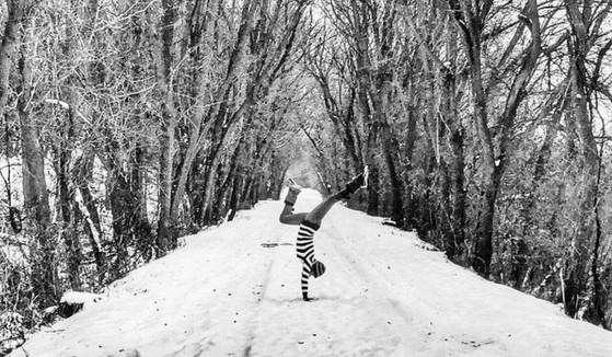 Elfogadás - a téli jógatábor valahogy így