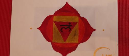 Csakratisztító meditáció festéssel