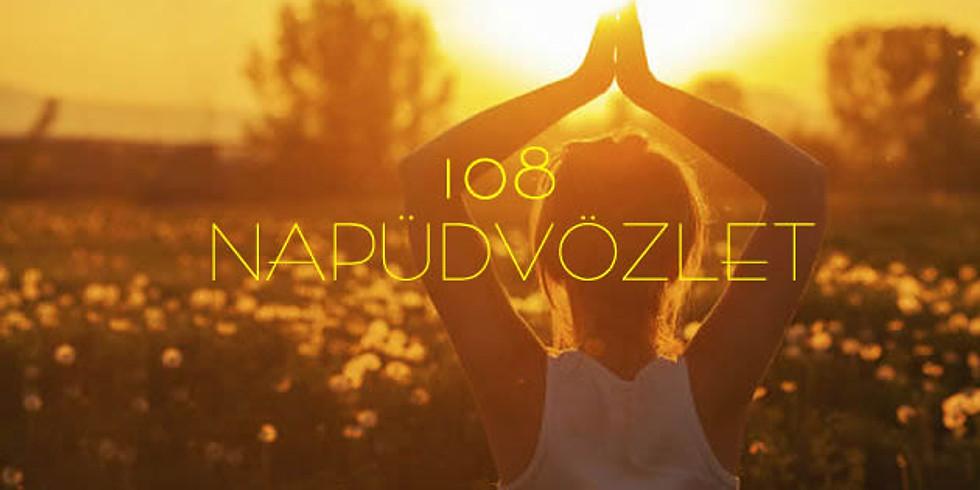 """14. Jazz""""n Flow Őszi Napéjegyenlőség 108 Napüdvözlet"""