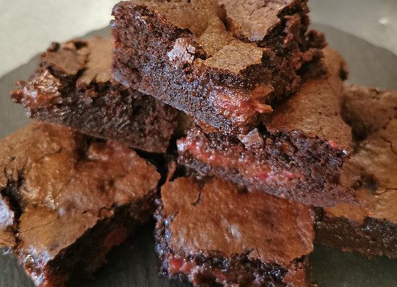Raspberry & Chocolate Brownie