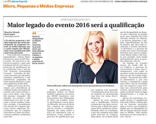 Entrevista - Diário do Comércio, Indústria & Serviços