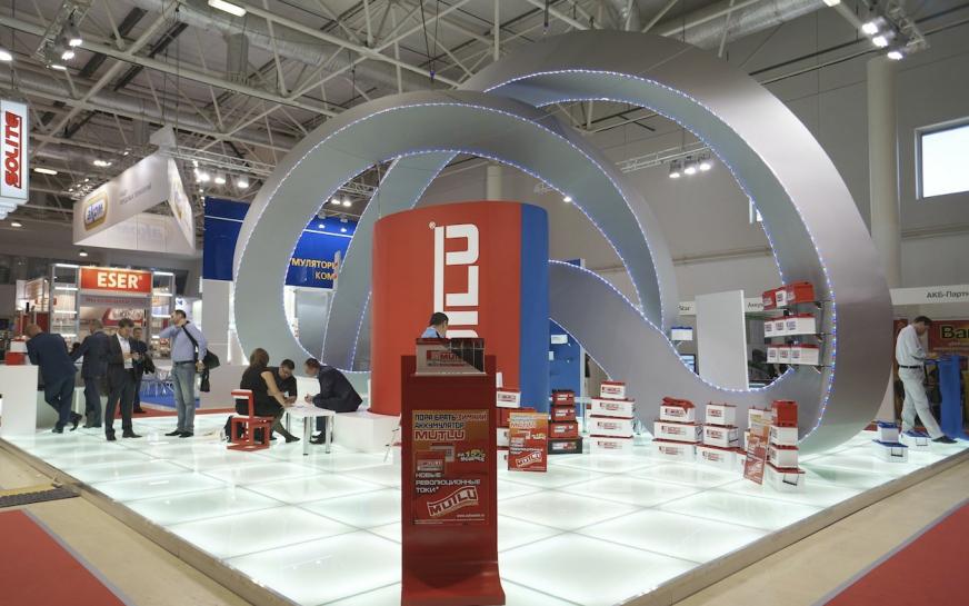 выставочный стенд в Россия, город Москва, Экспоцентр, выставка MIMS