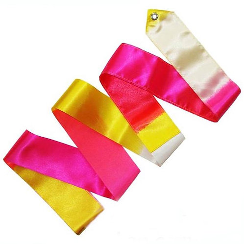 Multicoloured Ribbon - Pink/Red/Yellow/White