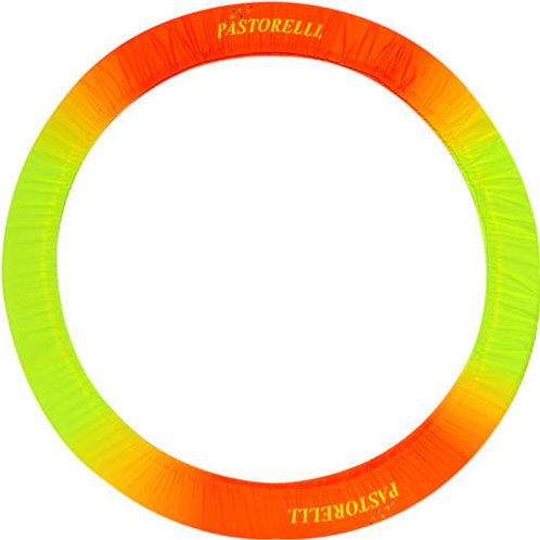 Shaded Hoop Holder - Yellow/Orange