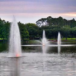One Lake Three Fountains