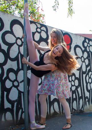 Street Ballet mit Anina