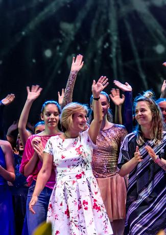 Großes Finale bei einer Ballettgala des DanceCenter No1