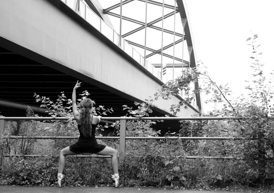 Street Ballet mit Raffaela