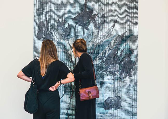Karin Kneffel und ihre Meisterschüler in der Galerie Noah