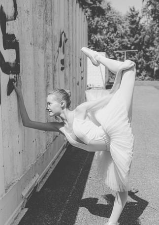 Street Ballet mit Melina