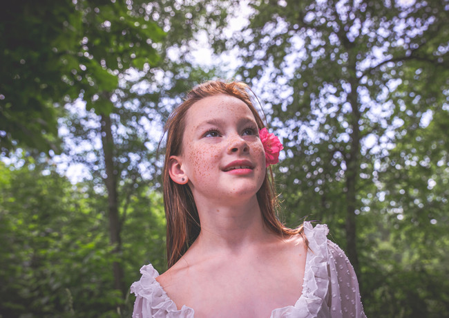 Porträt von Rebecca
