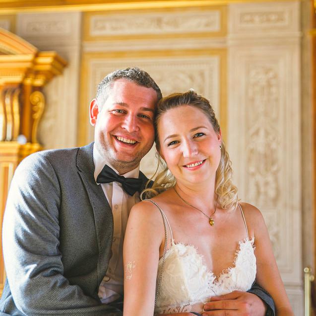 Hochzeit im Goldenen Saal in Augsburg