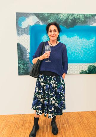 Prof. Karin Kneffel in der Galerie Noah