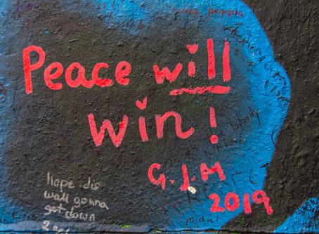 Belfast - die Hauptstadt Nordirlands: Frieden in Wort und Bild