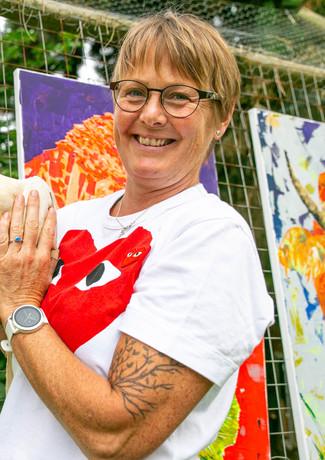 Künstlerin Susanne Ziegler