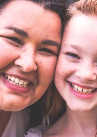 Simone und Rebecca