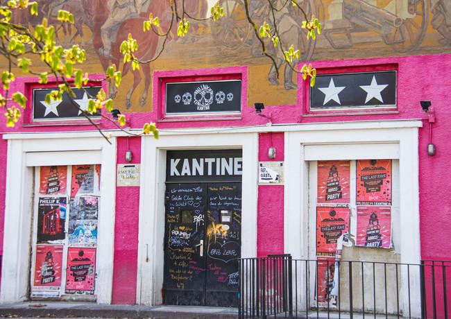 Die einstige Diskothek Kantine im Kulturpark Augsburg