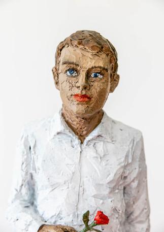 Ausstellung von und mit Stephan Balkenhol in der Galerie Noah in Augsburg