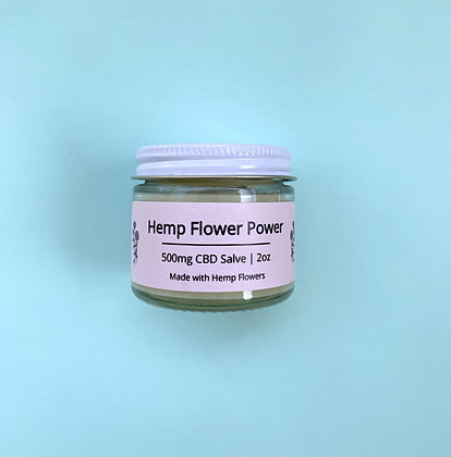 Hemp Flower Power Salve — 500mg CBD