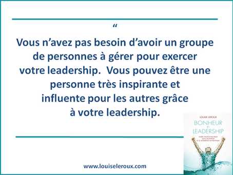 Votre leadership