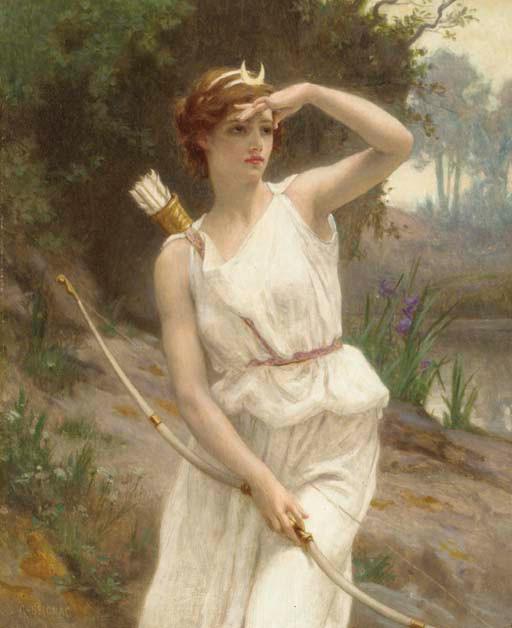 Diana the Huntress by G Seignac