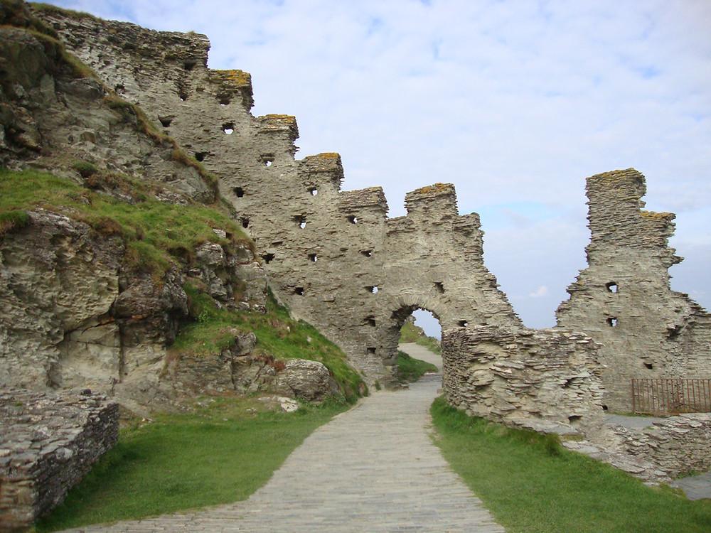 Tintagel Castle, Cornwall. (C) Jo Anne Blanco