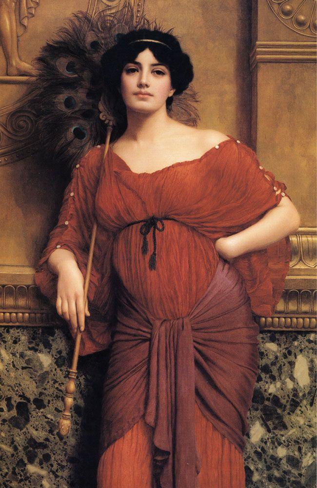 A Roman Matron, John William Godward (1905)