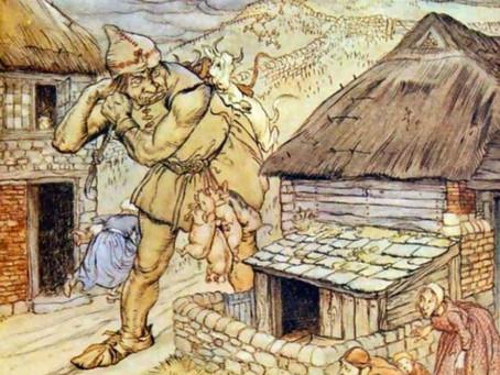 The Giants of Cornwall: Cormoran and Cormelian