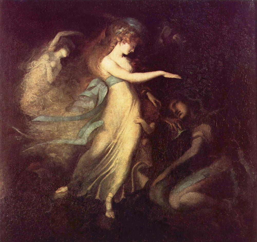 Goddess Ainé - Midsummer by Hughes
