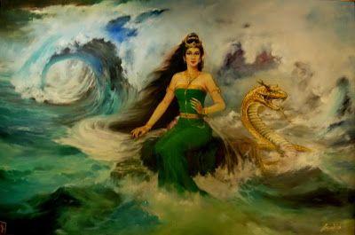 Goddess of the Week - Kadita, the Mermaid Goddess