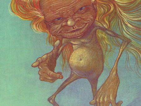 Yallery Brown, evil fairy