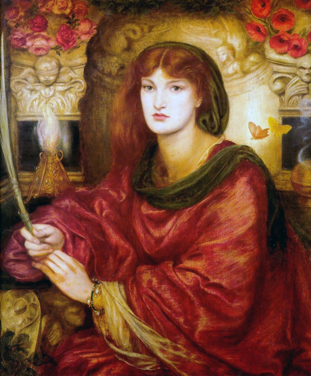 Ganieda, Rossetti-Sibylla Palmifera
