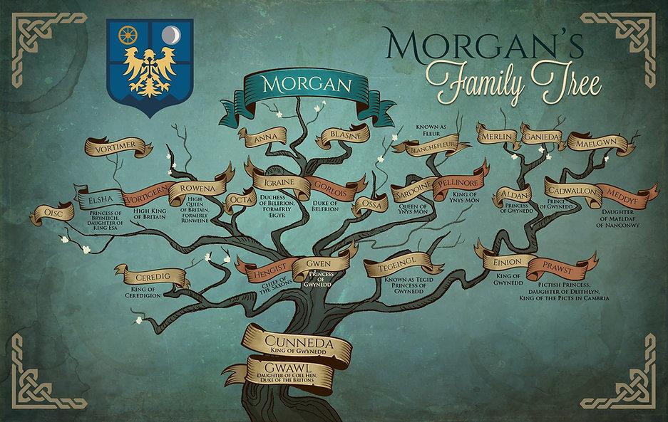 Mogan le Fay Family Tree
