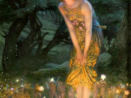 Irish Goddess of Midsummer Ainé